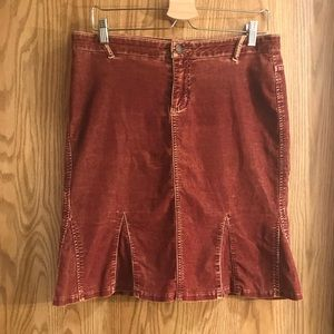 Dresses & Skirts - Guess Distressed Corduroy skirt Size 31